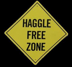 Haggle Free Zone