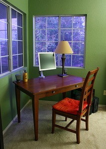 Vacation Rental Desk Space