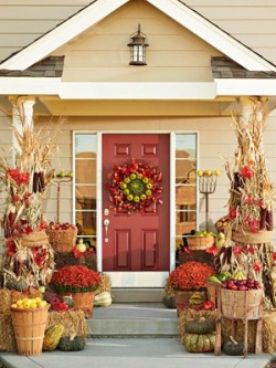 Thanksgiving Porch